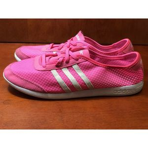 ADIDAS Neo Label Womens Size 9.5 Pink White